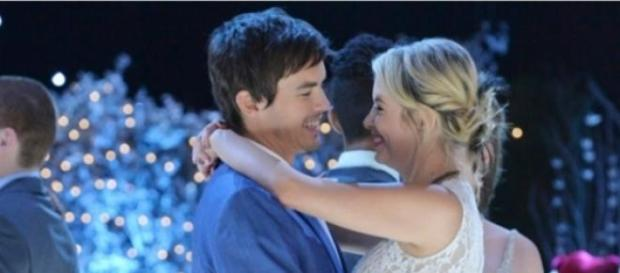 Pretty Little Liars: Ashley Benson-Tyler Blackburn