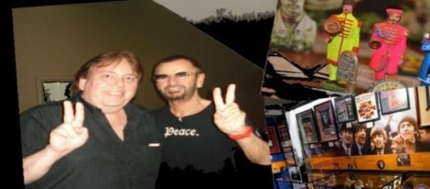 Rodolfo Vázquez conoció a Ringo Starr en Bs. As