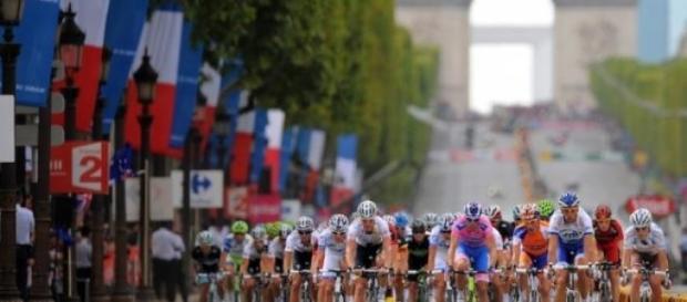 Tour de Francia a su llegada a París