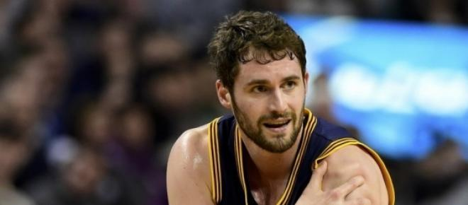 Kevin Love after sustaining season-ending shoulder injury.