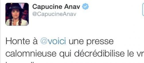 Capucine dément sa relation avec Louis Sarkozy