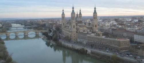 El río Ebro a su paso por Zaragoza