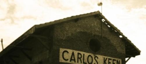 Galpón en la estación de Carlos Keen