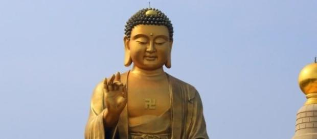 Buddha is a false god. He was once alive as a man.