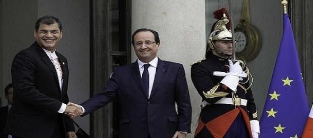 El presidente francés, Hollande