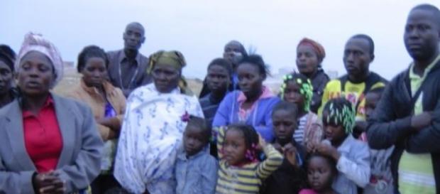 Famílias do Golfe recebendo visitantes