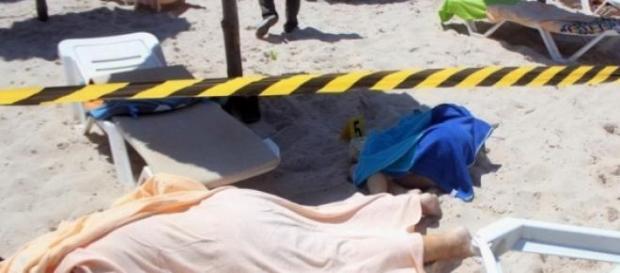L'attentato sulla spiaggia di Susa