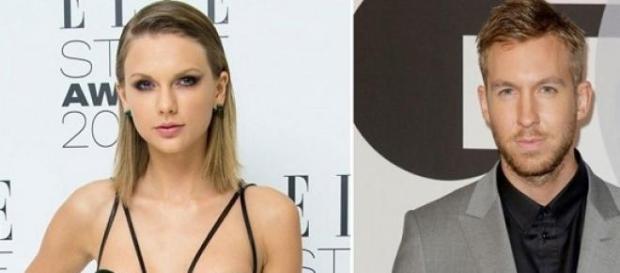 Le couple Taylor-Calvin en première position