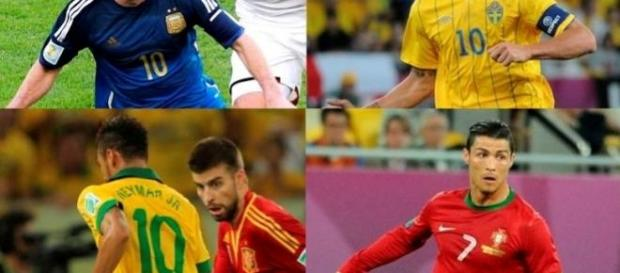 Messi, Cristiano, Neymar y Zlatan... ¿Olímpicos?