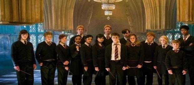Parte do elenco de Harry Potter e a Ordem da Fénix
