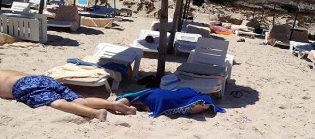 Turistas alvos de ataque terrorista.