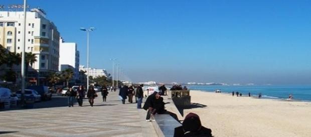 Una delle spiagge di Sousse