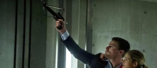 Olicity, Oliver Queen e Felicity Smoak in Arrow 3