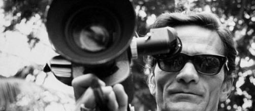 Pier Paolo Pasolini, poeta e regista.