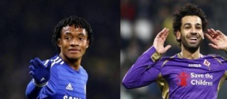 Cuadrado e Salah, possibili acquisti dell'Inter