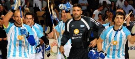 Argentina, campeon mundial en hockey sobre patines