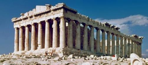 El Partenón de Atenas, en Grecia.