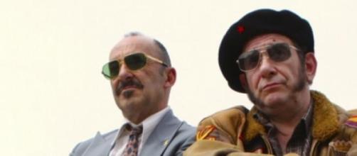 Manuel Manquiña y Karra Elejalde en 'Rey Gitano'