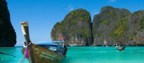 Una incantevole spiaggia della Thailandia