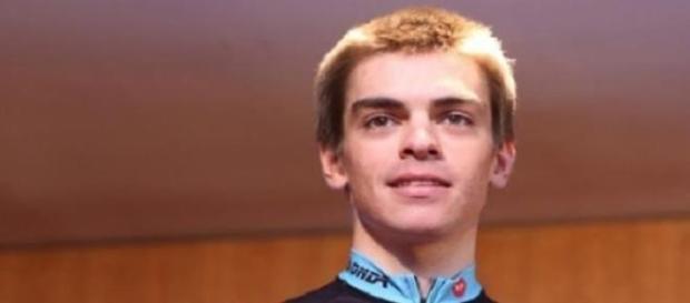 Nuno Bico, campeão de fundo sub-23 em ciclismo.