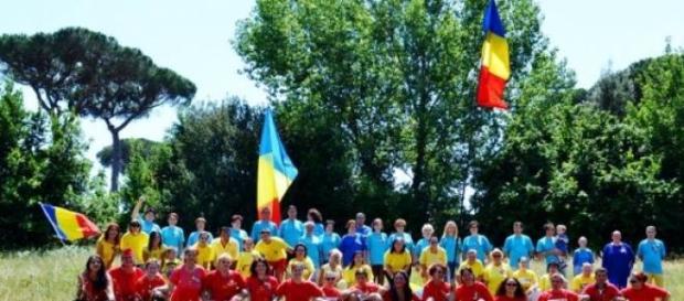 Tricolorul, sărbătorit la Roma