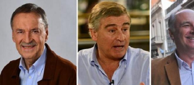 Schiaretti, Aguad y Accastello en un NO al debate