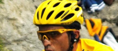 Alberto Contador; un grande.