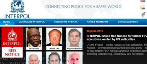 Alerta roja para seis involucrados en la FIFA
