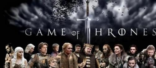 Cartel de la serie de éxito 'Juego de Tronos'