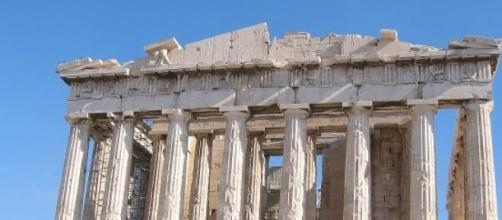 Il Partenone ad Atene (Grecia)