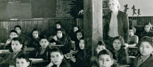 Les enfants étaient souvent victimes d'abus.
