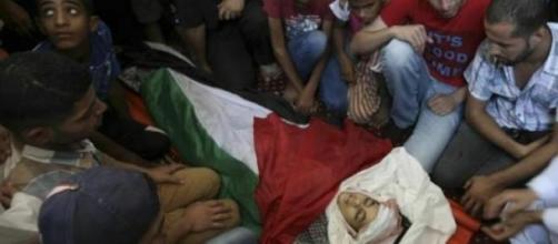 niños en la franja de Gaza