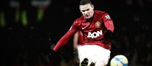 Rooney, le buteur de United.