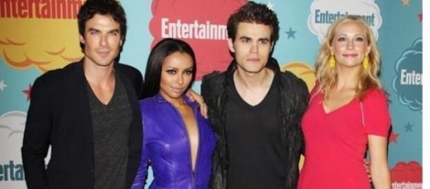 Die vier von sechs verbliebenen vom Original-Cast.