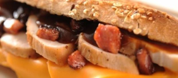 El sandwich de cerdo lo había preparado su abuela