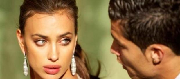 Irina Shayk y Cristiano Ronaldo