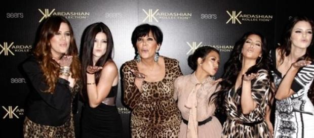 Las chicas Kardashian-Jenner.