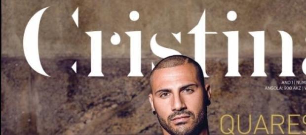 Quaresma na capa da revista Cristina
