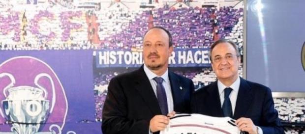 Rafa Benítez fue presentado en el Real Madrid