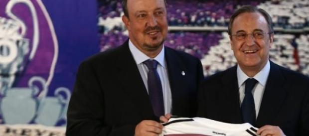 Rafa Benitez nowym trenerem Realu Madryt