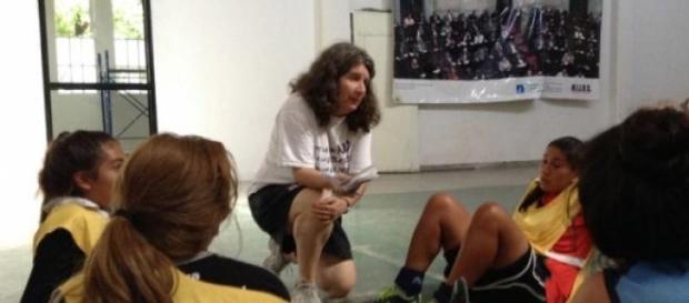 Santino, referente femenina del fútbol y género