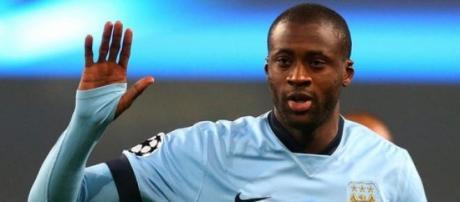 Yaya Toure, 32 anni, centrocampista del City