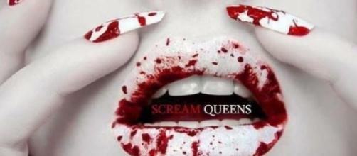 Cartel publicitario de Scream Queens