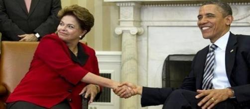 Dilma e Obama - Brasil entrará no Global Entry