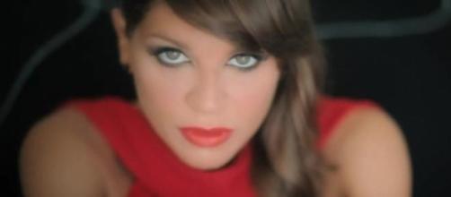 La cantante Alessandra Amoroso