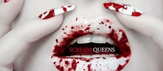 Cartel publicitario de Scream Queens