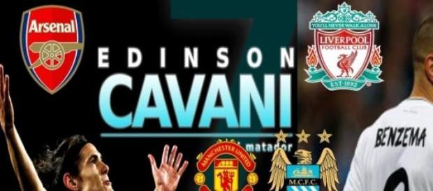 Czy Cavani i Benzema trafia do Premier League?