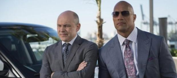 Dwayne Johnson and Rob Corddry in Ballers