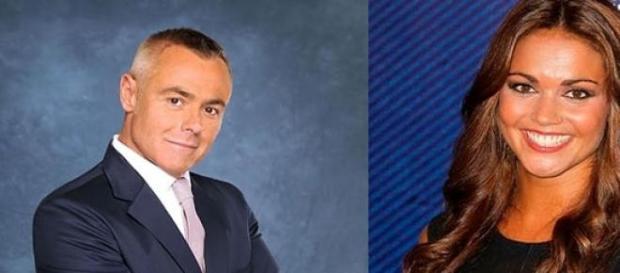 Jordi González y Lara Álvarez