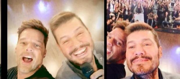 La Selfie que captó Tinelli, son muchos años..dijo